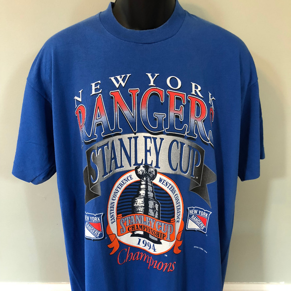 Vintage Other - 1994 New York Rangers Stanley Cup Shirt NHL Vtg